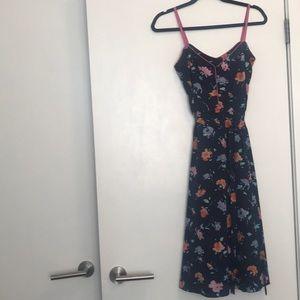 Vintage Dresses - Vintage (70s?) floral sun dress